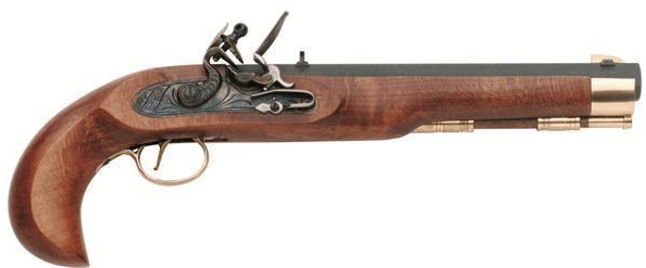 Křesadlová pistole Kentucky cal. .45