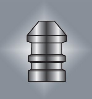 Licí forma Lyman .45 Caliber Maxi