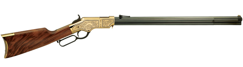 Puška The Original Henry Rifle Deluxe Engraved