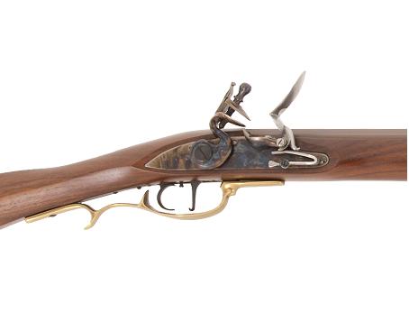 Křesadlová puška Frontier cal. .45, .50, 54 - detail zámku