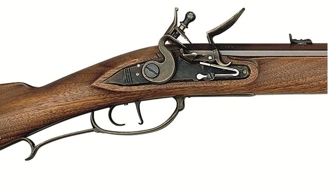 Křesadlová puška Puška Jäger Hunter cal. 54 zámek detail