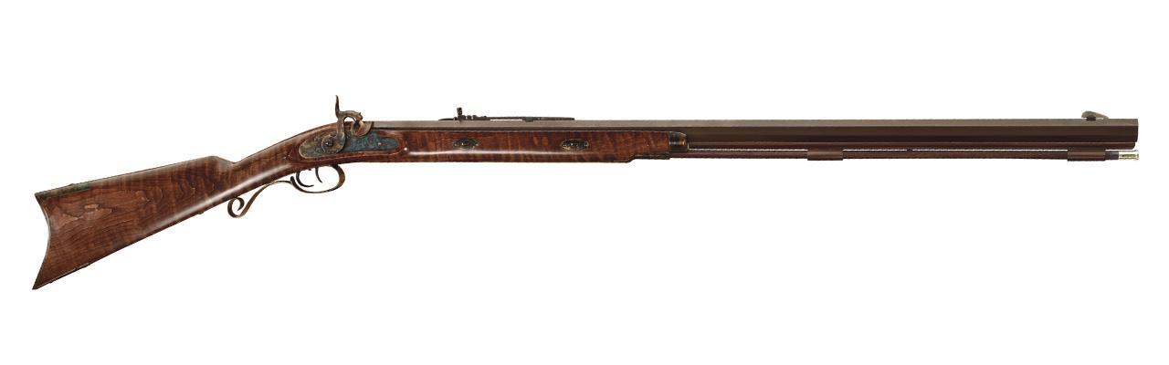 S. 208  Puška Hawken Missouri River - pažba z amerického javoru