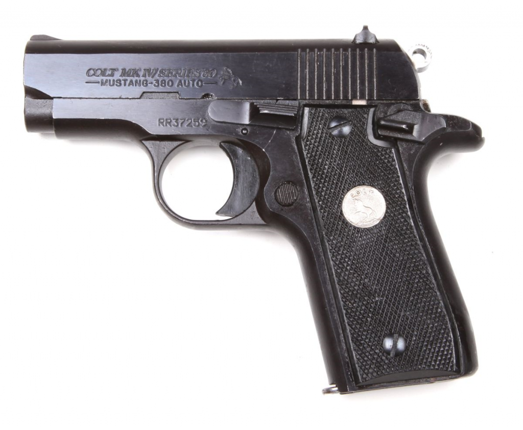 Pistole Colt MkIV /Series 80 Mustang Plus II r. 9mm Browning