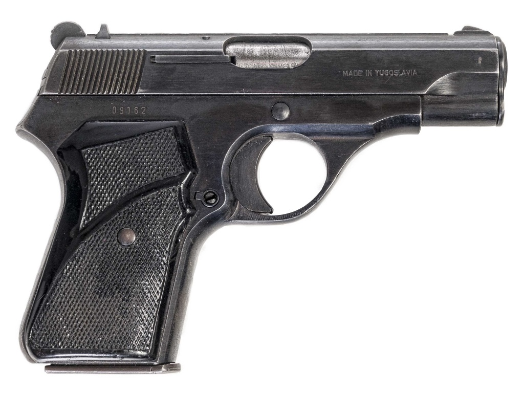 Pistole Crvena Zastava Mod. 67 r. 9mm Brow.