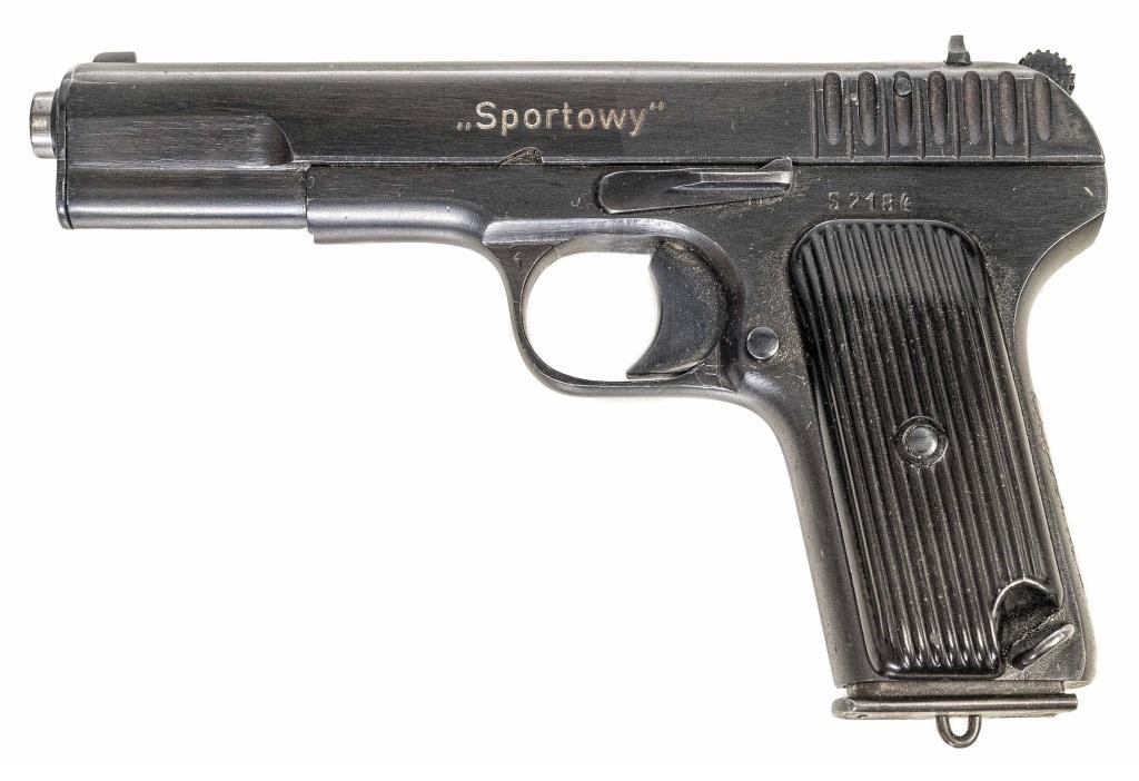 Vojenská tréninková pistole Tokarev Sportowy r. .22LR