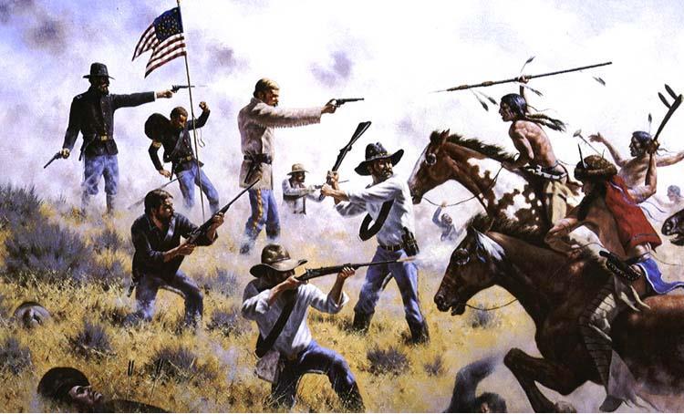140. výročí bitvy u Little Big Hornu 25.06.1876 - Opavský ostrostřelec