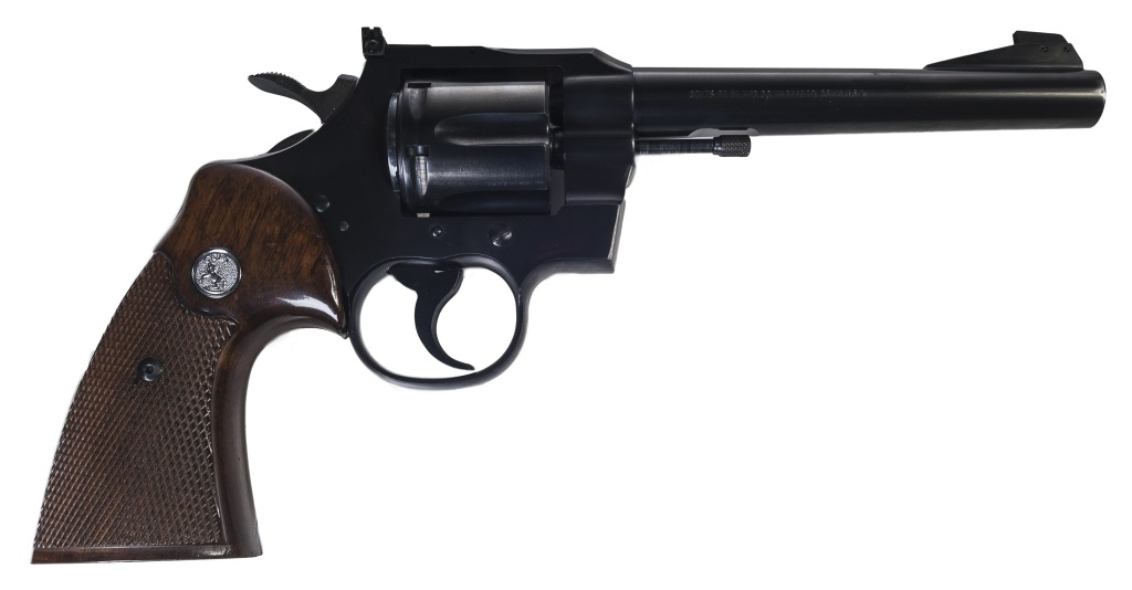 revolver Colt Officers Match r. .22LR, hlaveň 6""