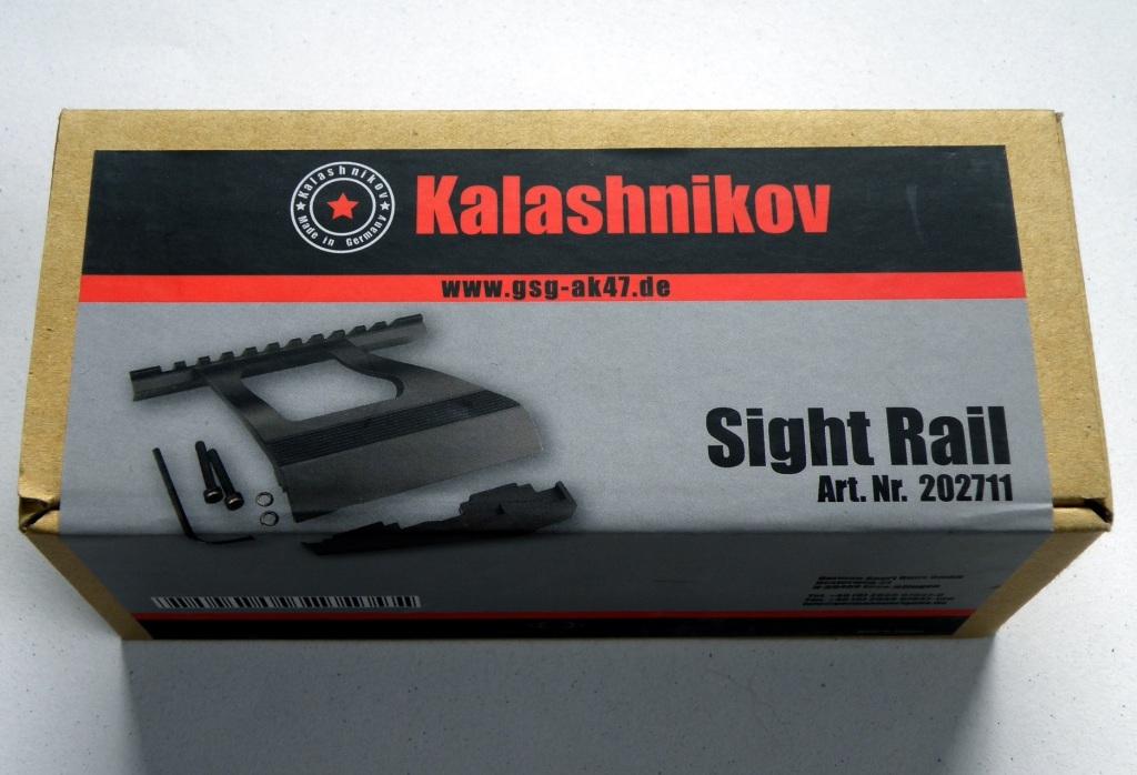 Boční montáž s weaver lištou pro GSG-AK47