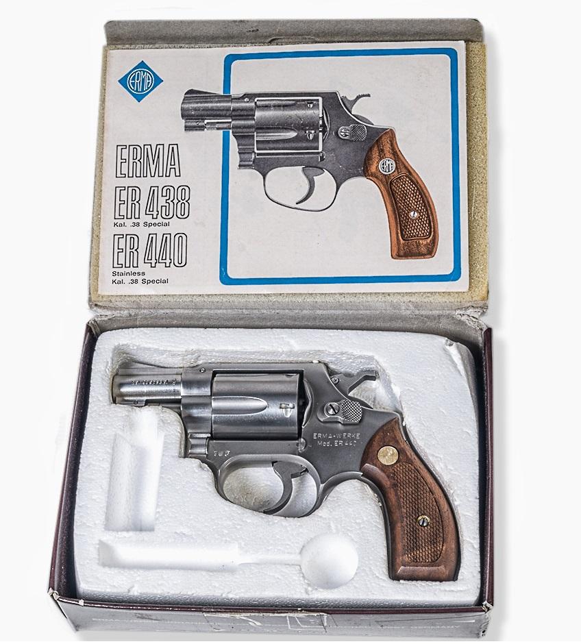 Revolver Erma ER 440 r.38 Special