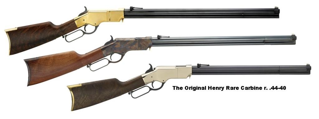 Puška - The Original Henry Rare Carbine r. .44-40 - brass
