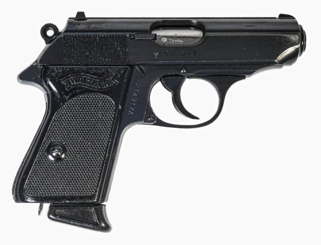 Samonabíjecí pistole Walther PPK r. 9mm Browning