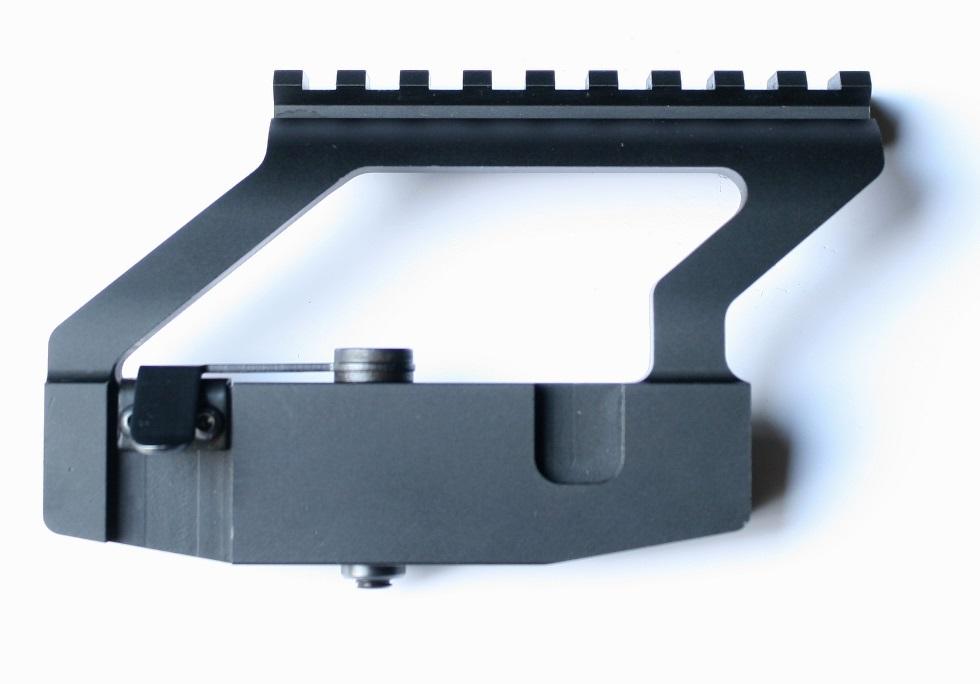 Boční montáž pro kolimátor s weaver lištou - nízká