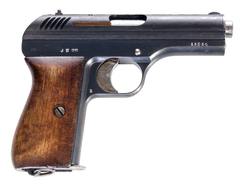 Pistole ČZ vz. 24 r. 9mm  Browning (9mm vz. 22)