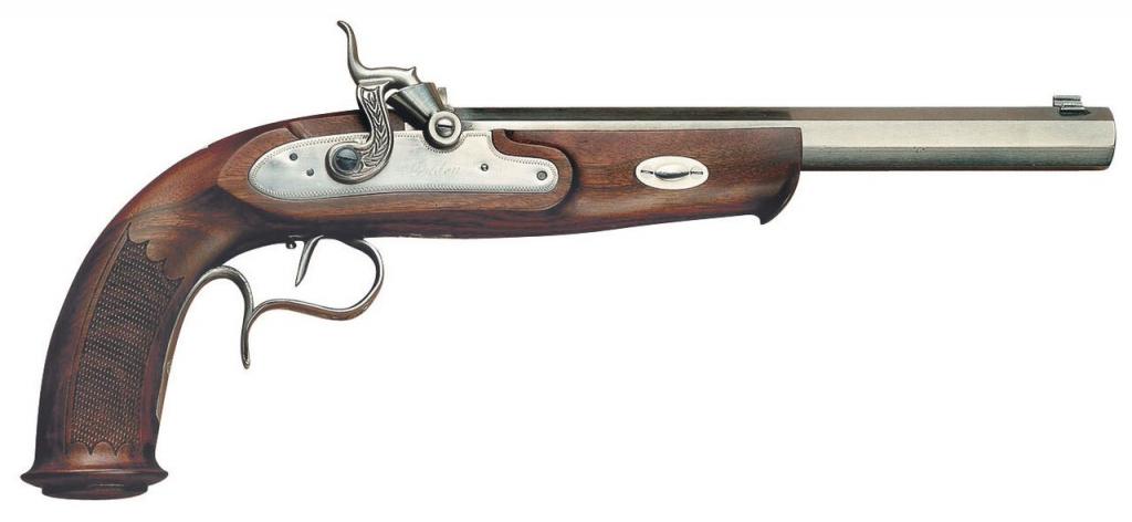 W. Parker Match Pistol