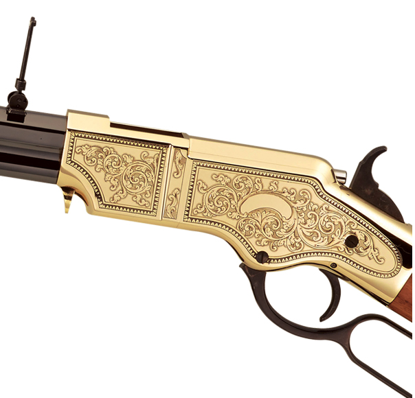 Puška The Original Henry Rifle Deluxe Engraved- pouzdro 2