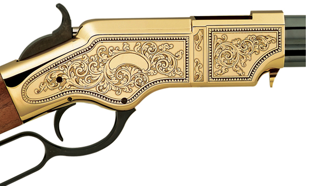 Puška The Original Henry Rifle Deluxe Engraved - pouzdro