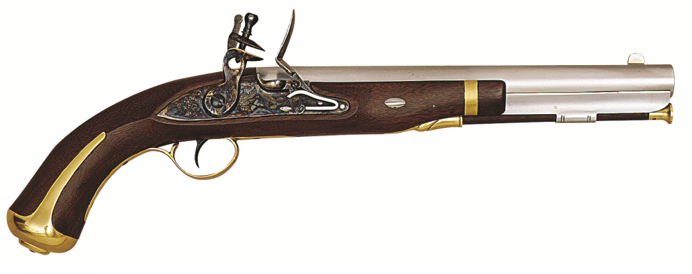 Křesadlová pistole Harper´s Ferry cal. .58