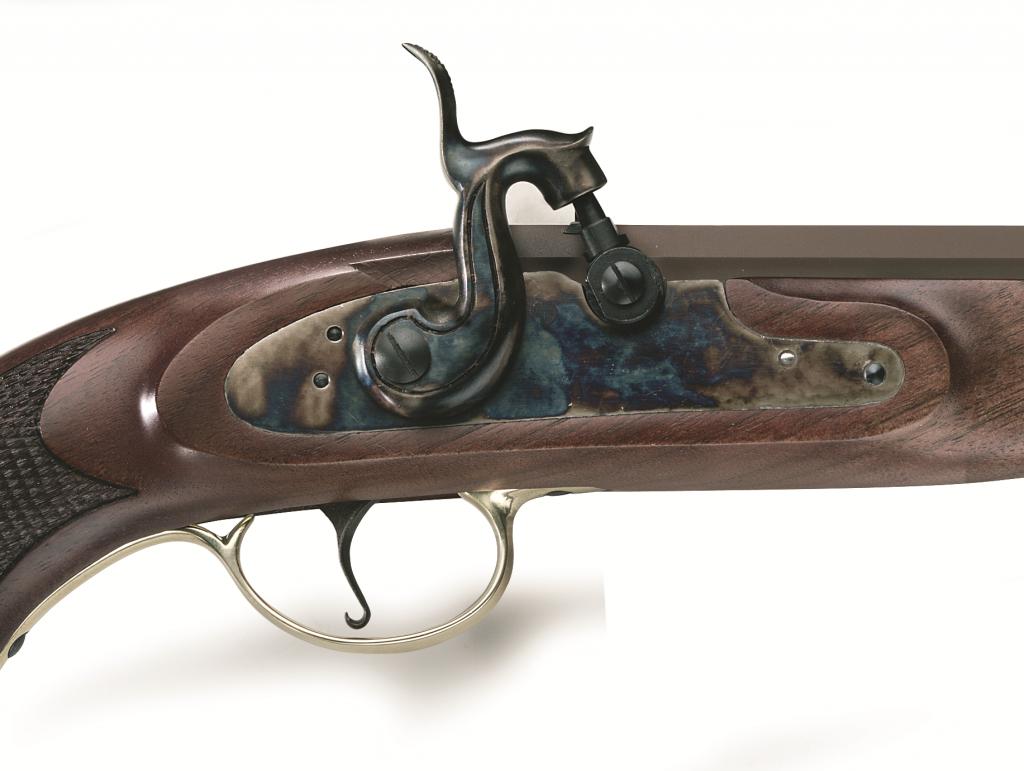 Perkusní pistole Continental Duelling cal .45 - detail perkusního zámku