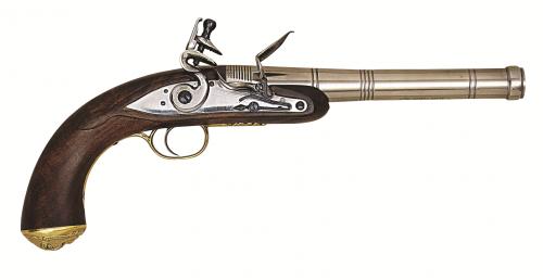 Křesadlová pistole Queen Anne cal. .50