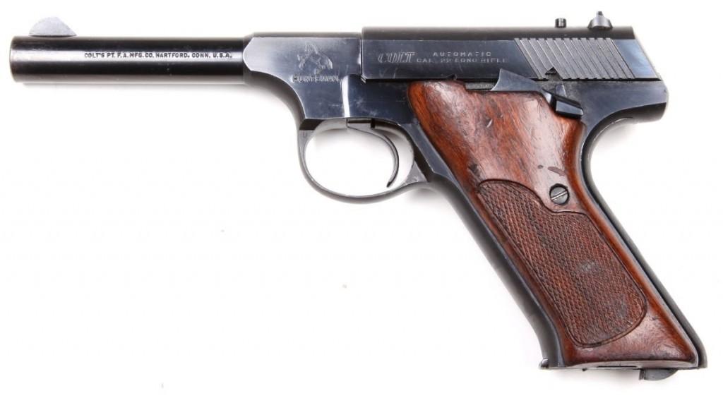 Pistole Colt Huntsman r. .22LR