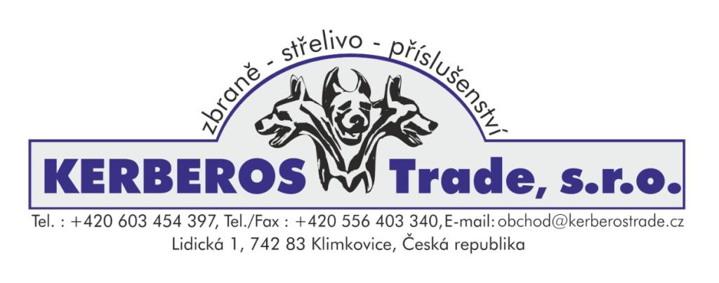 zbraně a střelivo - Kerberos Trade s.r.o. Ostrava