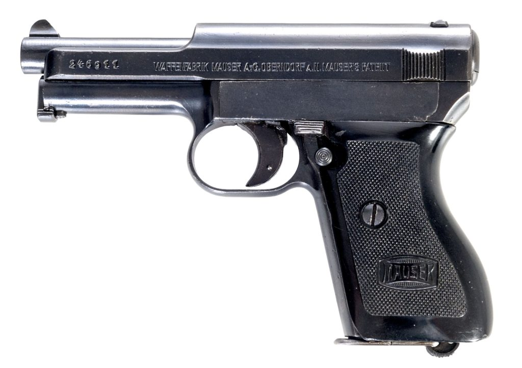 Pistole Mauser Model 1934 r. 7,65 Browning
